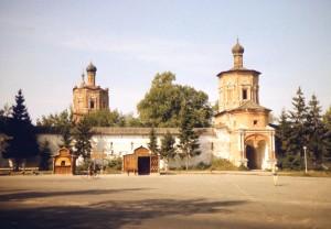 Солотчинский монастырь 70-е годы